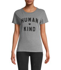 sub urban riot women's humankind t-shirt - heather grey - size s