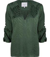blouse miley  groen