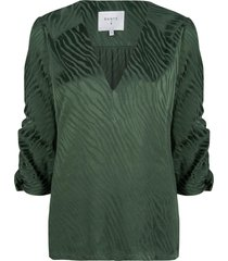 blouse miley  groen