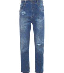 calça masculina rock kuito 3d - azul