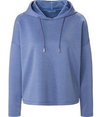 sweatshirt capuchon en lange mouwen van day.like blauw