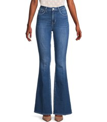 l'agence women's bell high-rise flare jeans - hawthorne - size 27 (4)