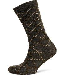 duca love lingerie socks regular socks svart becksöndergaard