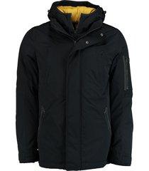 bos bright blue martijn parka jacket 19301ma09ios/290 navy