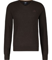 pullover state of art donkerbruin