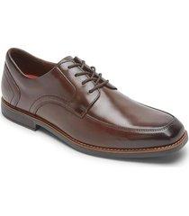 zapatos rockport slayter apron toe oxford-negro-cafe