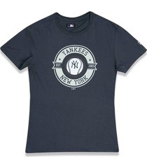 t-shirt new era regular new york yankees chumbo