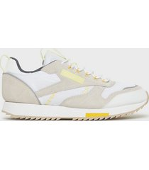 reebok classics cl leather ripple t sneakers white