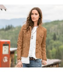 diamond ridge leather jacket