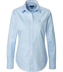 blouse van gant blauw