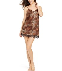 i.n.c. lace-trim chemise nightgown, created for macy's 10227687