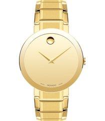 men's movado bold sport bracelet watch, 39mm