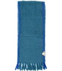 lovat & green melange scarf