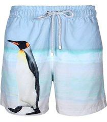 pantaloneta azul steam penguin