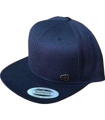 gorra fist con pin azul navy plana gfistcap28