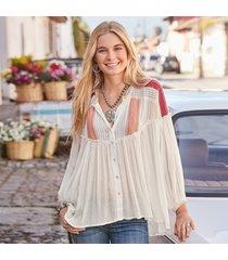 constance crochet blouse