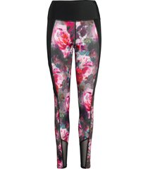 floral flex hw legging leggings multi/mönstrad hunkemöller