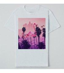 camiseta reserva lnk los flamingos masculina - masculino