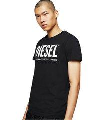 diesel 00sxed 0aaxj t-diego-logo t shirt and tank men black