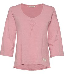 elly top t-shirts & tops long-sleeved roze odd molly