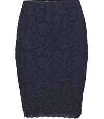 skirt kort kjol blå rosemunde