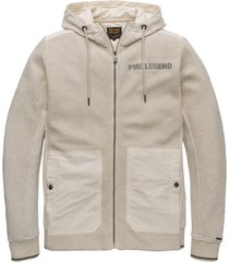 hooded jacket structure sweat