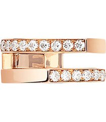 'antifer' diamond rose gold ear cuff