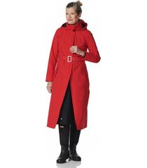 happyrainydays regenjas long raincoat rosa red black 2020-xxl