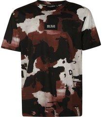 dolce & gabbana paint splash t-shirt