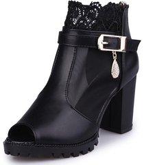 sandalias de mujer sandalias de tacón alto de malla negra para mujer