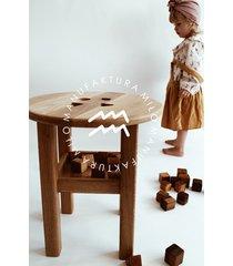 drewniany stolik edukacyjny / sorter kształtów 4
