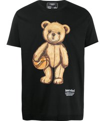 domrebel dribbling teddy bear t-shirt - black