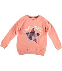 tommy hilfiger zachte oversized sweater priced coral