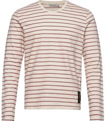 salk str t-shirts long-sleeved crème tiger of sweden jeans