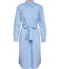 nudaija dress knälång klänning blå nümph