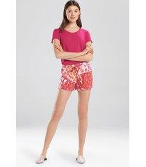 lily- zoe shorts, women's, purple, size l, josie