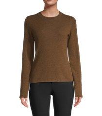 vince women's slim-fit cashmere sweater - black - size xl