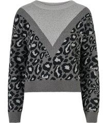 tröja vmleon block ls o-neck blouse