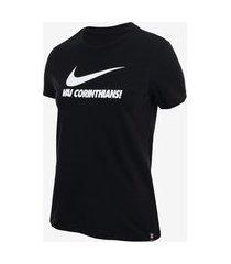 camiseta nike corinthians feminina