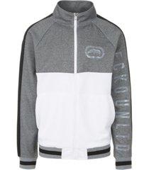 ecko unltd men's color blocked track jacket
