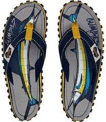 sandalias gumbies unisex islander color turquesa, tallas 42-43