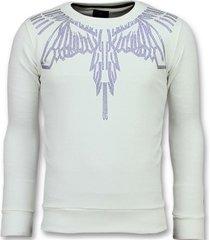 sweater local fanatic eagle glitter - merk sweater - 6340w -