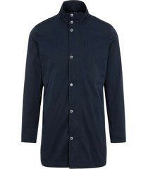 terry poly stretch coat