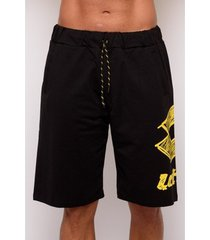 korte broek lotto sweatshirt print bermuda shorts (ltu037-gaillo)