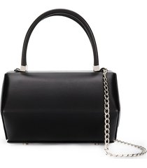 nita suri hexa barrel handbag - black