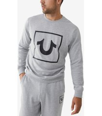 men's box horseshoe pullover sweatshirt