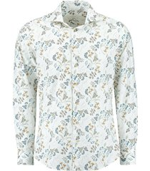 overhemd print wit