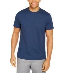 alfani men's end-on-end stripe t-shirt, created for macy's