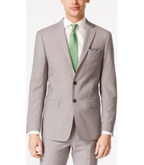 calvin klein men's solid classic-fit suit jackets