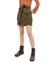 falda verde militar brahma mujer fal0006-vmi